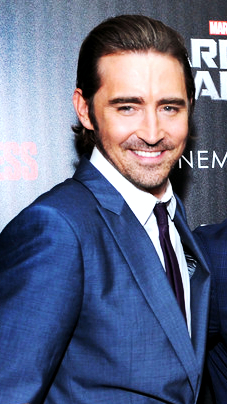 Lee Pace Guardians of the Galaxy. Photo from news print.