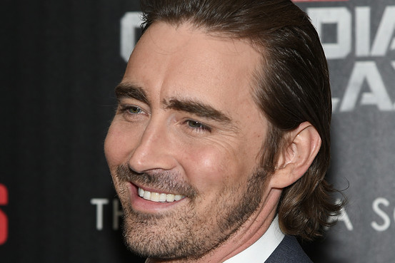 Lee Pace Guardians of the Galaxy screening. Photo from newsprint